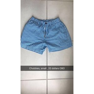 Chubbies men's shorts
